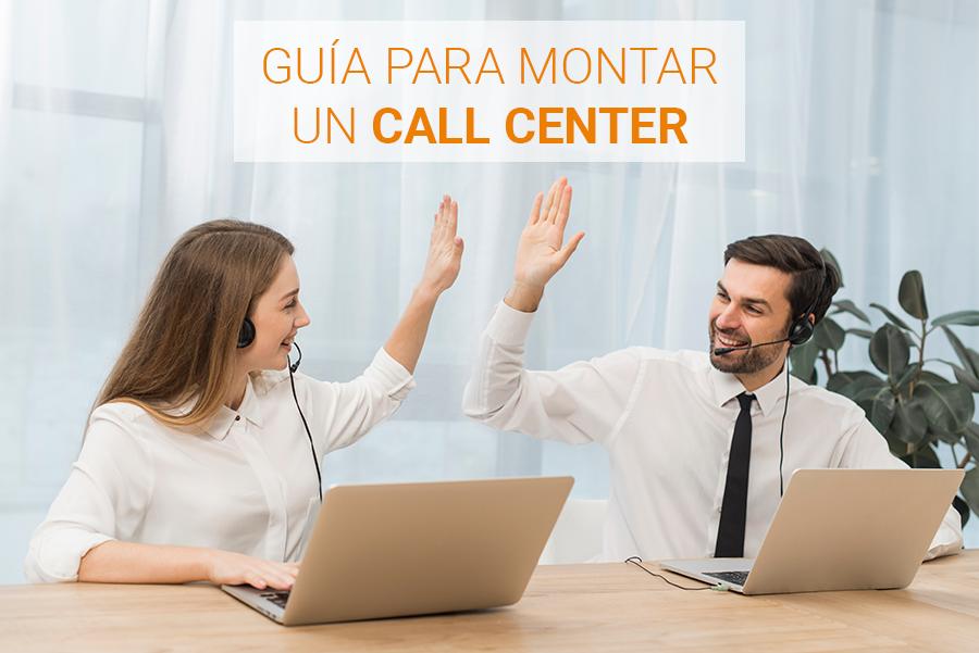 como montar un call center