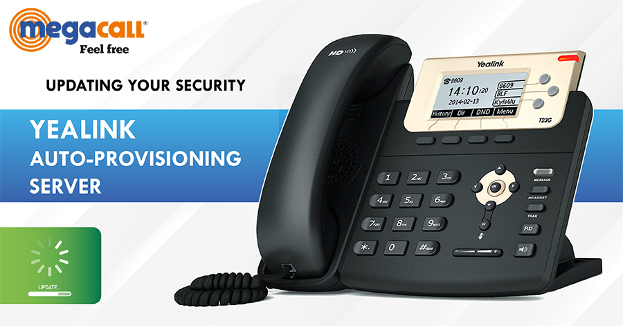 security on your Yealink IP phone