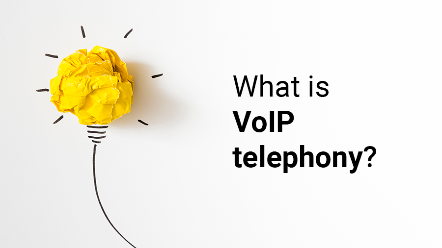 What is VoIP telephony