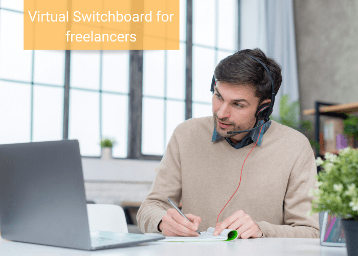 virtual switchboard for freelancers