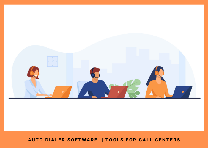 How does an auto dialer work? Auto dialer for Call Centers