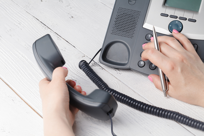 How to call an extension number
