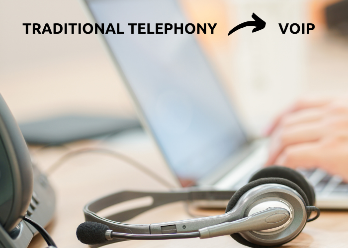 traditional telephony voip