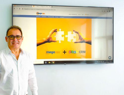 Megacall integra la última versión de Zoho CRM a la centralita virtual