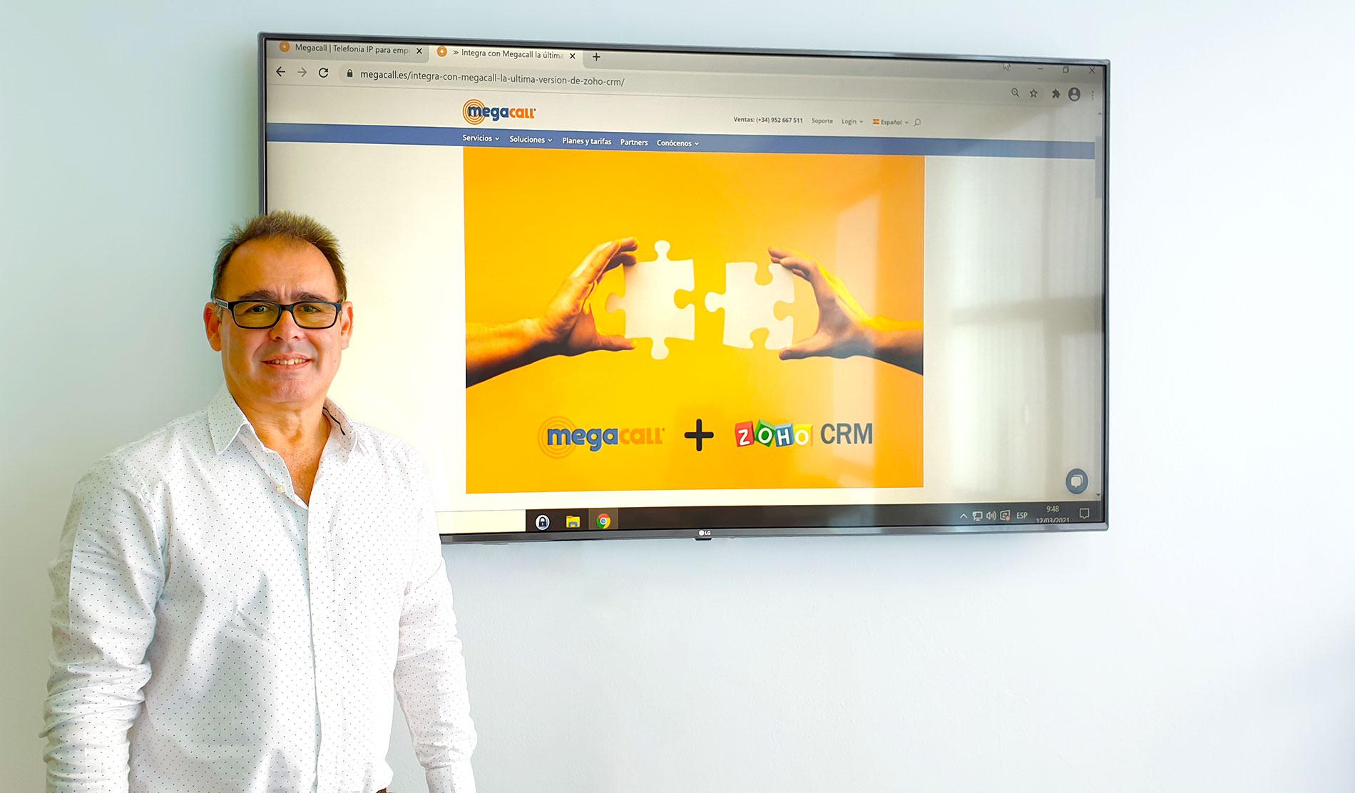 Anthony Kauffer, Megacall CEO