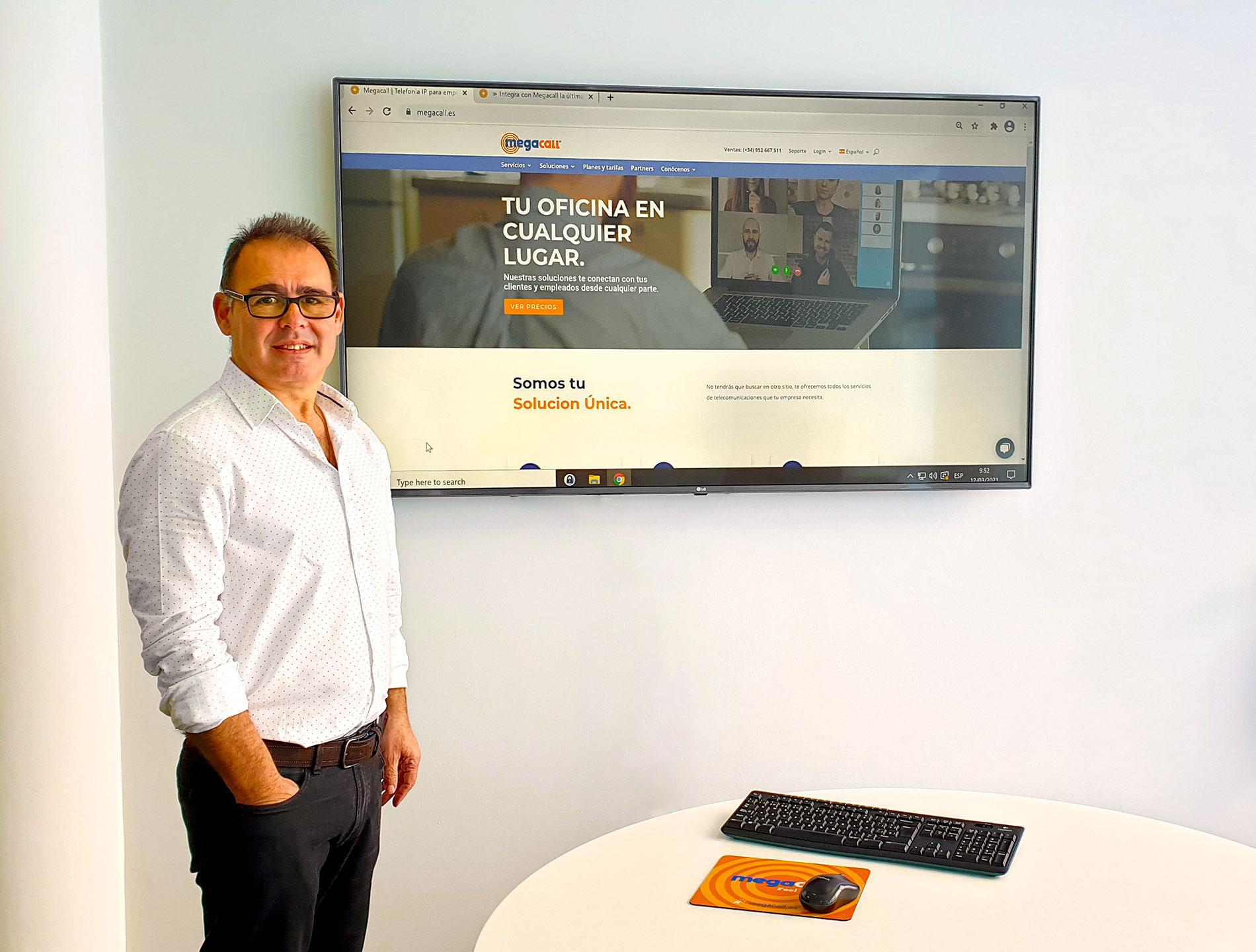 Tony Kauffer - CEO de Megacall