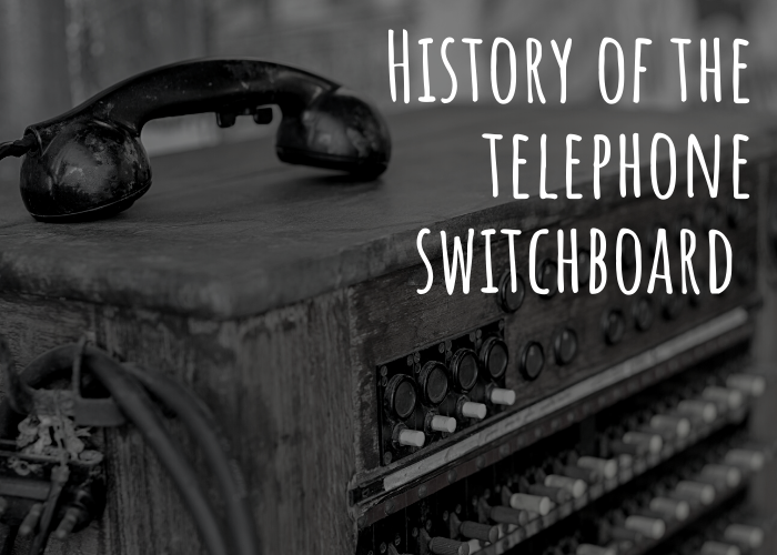 History of the telephone switchboard