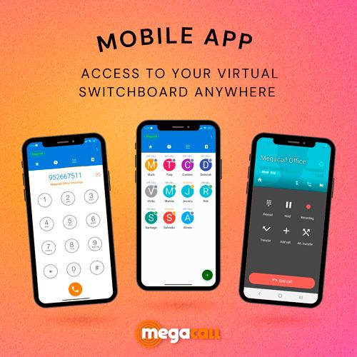 mobile app megacall